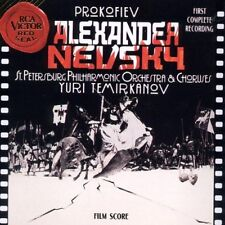 ALEXANDER NEVSKY Soundtrack (PROKOVIEV) - 1993 first complete recording