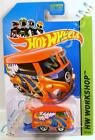 VOLKSWAGEN VW KOOL KOMBI DRAG BUS RED 2013 2014 HOT WHEELS HW DIECAST RARE