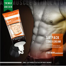 6 Pack Abs Muscle Belly Sculpting Cream Men Slimming Fat Burning Weight Loss Gel
