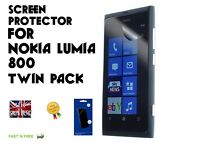 Nokia Licensed Screen Protector for Nokia Lumia 800 - Clear Pack of 2