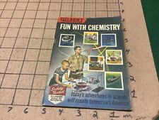 1956 FUN with CHEMISTRY XM-3776 A C Gilbert -