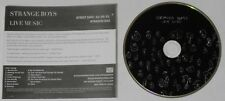Strange Boys  Live Music  U.S. promo cd  -Rare!
