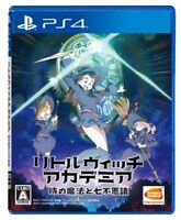 USED PS4 Magical and Seven Wonders of Little Witch Academia