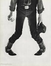 1987  David Bowie By Herb Ritts Music Singer Actor Cowboy Fashion Photo 16x20