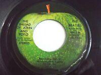 The Beatles Ballad Of John And Yoko / Old Brown Shoe 45 1969 Apple Vinyl Record