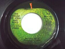 The Beatles Ballad Of John And Yoko / Old Brown Shoe 45 1969 Apple Vinyl Record