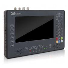 """X-FINDER 2 HD Satfinder Combo 7"""" LCD Bildschirm DVB-S/S2,C,T/T2 Messgerät HDTV #"""