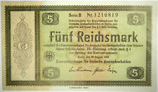 1933 GERMANY 5 REICHSMARK P-199 ~ GERMAN CONVERSION FUND ~ PRICED RIGHT!