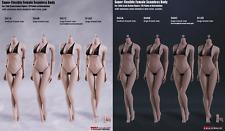 1/6 PHICEN TBLeague Steel Skeleton FEMALE SEAMLESS Suntan Pale Body Hot toys