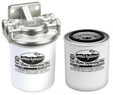 Marpac Stainless Steel Fuel/Water Separating Filter Kit With Two Filters