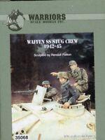 Warriors 1:35 Waffen SS StuG Crew 1942-45 3 Resin Bust Figures Kit #35068