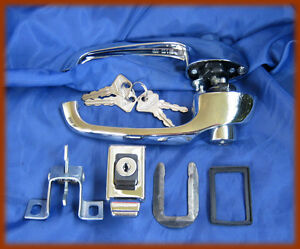 FIAT 500 F L R - Set 3 pieces 2 door handles and 1 tailgate