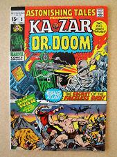 Marvel ASTONISHING TALES #3 - Ka-Zar And Dr. Doom - VF/NM Dec 1970 Vintage Comic