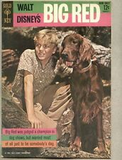 Movie Comics Big Red 1962 fn photo cover / based on Disney Film