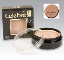 Celebre HD Pro ~ Mehron Quality Foundation Cream Theatrical Makeup Medium Dark 2