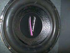 Audiobahn speaker subwoofer 12'' car audio in good working order .
