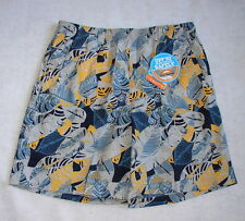 "COLUMBIA PFG BACKCAST II PRINTED Water Shorts  Men's L X 8""  NWT Stinger Palm"