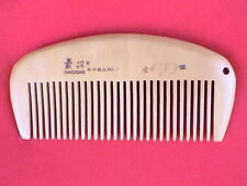 """3.75"""" STURDY MEDIUM TOOTHED CHERRY WOOD COMB - FOR ALL HAIR! COMBINE SHIPPING!"""