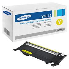 1x  Original Toner Samsung CLP320N CLP325W CLX3185FN CLX3185FW CLT-Y4072S/ELS