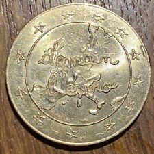 JETON 1,5 EURO CENTRE LECLERC DEMAIN L'EURO 1996 (668)