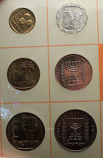1966 ISRAEL Proof-Like Issues Tel Aviv Mint 6 COINs Set Collection NICE! i57014