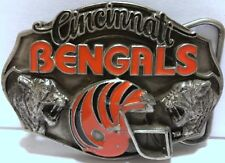 VTG Cincinnati Bengals Belt Buckle 1987 NFL Football Siskiyou Limited Edition