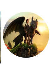How To Train Your Dragon Cake Topper Edible Image