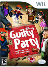 Video Game Wii Disney Guilty Party NEW SEALED