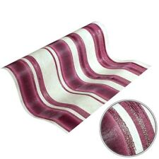 Textured Heavy Vinyl Stripe Wallpaper Rolls Cream /Pink / Gold - P+S 02486-60