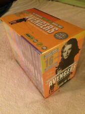 AVENGERS THE COMPLETE EMMA PEEL MEGA-SET NEW SEALED 16-DISC-SET 2001 DVD OOP