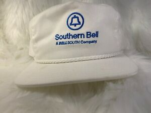 Southern Bell Golf Cap Hat Vintage BellSouth Co  Adjustable Made In USA Brimar