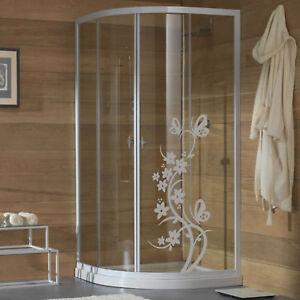 wall stickers adesivo adesivi farfalle vetro box doccia decorazione vetri a0006