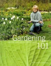 Gardening 101: Learn How to Plan, Plant, and Maintain a Garden-ExLibrary