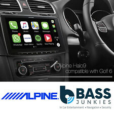 "VW Golf MK6 2009-2012 Alpine 9"" Touchscreen DAB Bluetooth CarPlay Android Stereo"