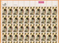 Scott #2159 Public Education postage Stamp Sheet of 50-22 Cent 1985 release