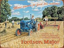 Fordson Major More Power metal fridge magnet (og)
