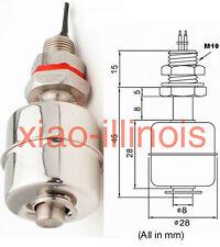 Stainless Steel Mini Float Switch Vertical Liquid Water Level Sensor Horizontal