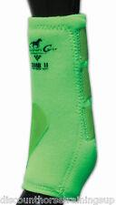 Professional's Choice SMBII Sport Medicine Boots Lime Green Prof M SMB II Pro