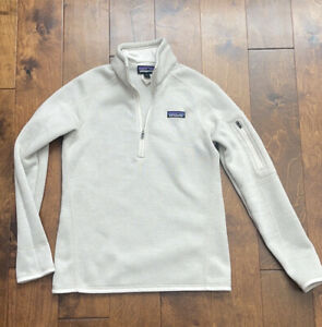 Patagonia Women's Better Sweater Half Zip Pullover Size S Small