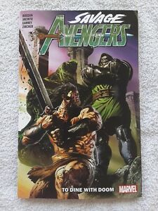 Savage Avengers vol. 2: To Dine With Doom (Marvel, 8/20) 9.2 NM- TPB