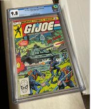 GI Joe #5 CGC 9.8 Marvel Comics key