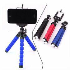 Vlog Phone Holder Flexible Camera Stove Mini Smartphone Tripod Octopus Black For