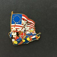Mickey Mouse Goofy Donald Duck Celebrating the Fourth of July Disney Pin 36785