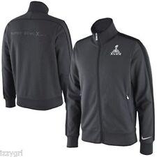 NWT $100 NIKE N98 Super Bowl XLVII NFL Grey Track Jacket Original Official S