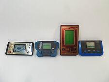 LOT DE 4 JEUX LCD vendu en l'état pour pièces