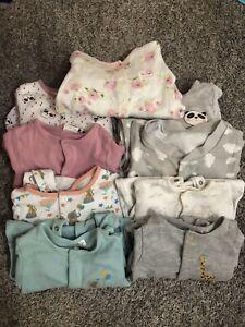 3-6 Months Babygrow sleepsuit bundle
