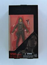 HASBRO STAR WARS THE BLACK SERIES ROGUE ONE SERGEANT JYN ERSO 6 Inch Figure