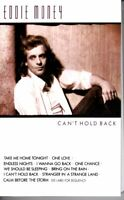 Eddie Money Can't Hold Back 1986 Hard Classic Rock Roll Cassette Tape Pop