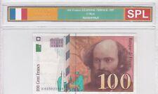 BILLET DE 100 FRANCS CEZANNE 1997 SPL!!!