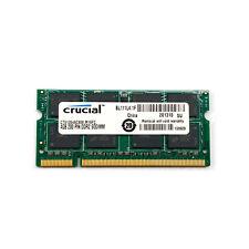 Crucial 4GB CT51264AC800.M16FC DDR2 800 (PC2 6400) 200-Pin SODIMM Laptop Memory